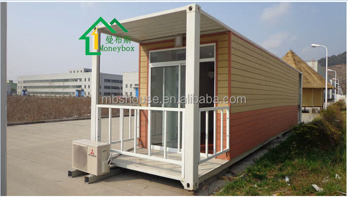 Modified Container House With A Porch House Containers Living Home Prefab Container Coffee
