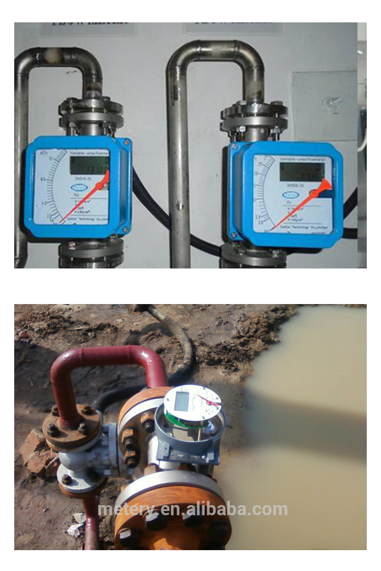sewage water mechanical flow meter Metery Tech.China