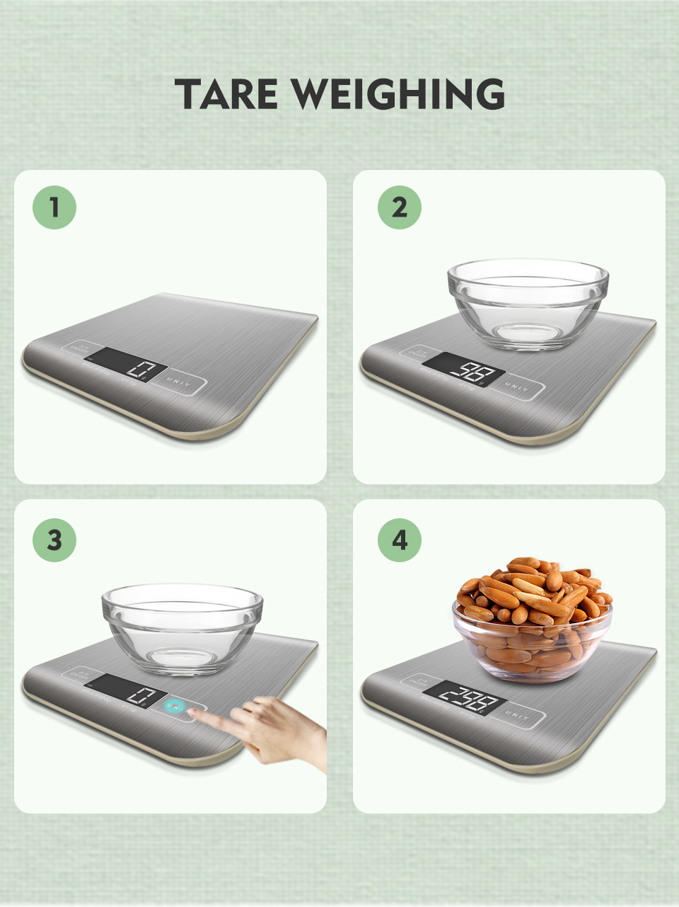 China Supplier 5kg kitchen Scales Food Diet Postal Kitchen Digital Scale