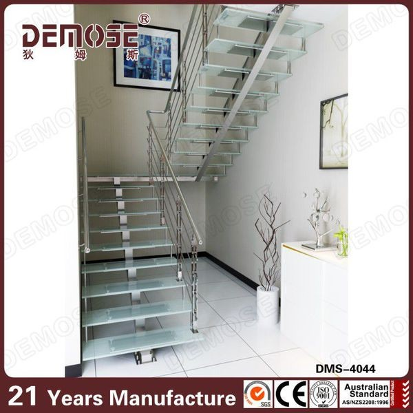 Attractive Prefab Metal Stairs Residential Floating Stairs