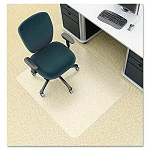 """Deflect-O - Environmat Pet Studded Chair Mat 46W X 60L Clear """"Product Category: Office Furniture/Chair Accessories"""""""