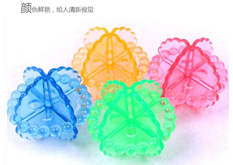 PVC magic clean laundry washing ball for washing machine