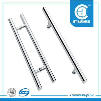 H Type Sliding Glass Door Pull Handledouble Sided Door Pull Handle