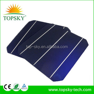 6 Inch Monocrystalline Made in TAIWAN 3BB Motech No color difference Solar Cell , GINTECH A grade panel solar cell