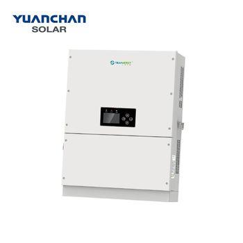 YuanChan Trannergy high quality high frequency pure sine wave hybrid MPPT 25KW 30KW solar power inverter