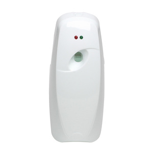 Bathroom toilet wall-mounted battery operated timer aroma diffuser automatic air fragrance dispenser