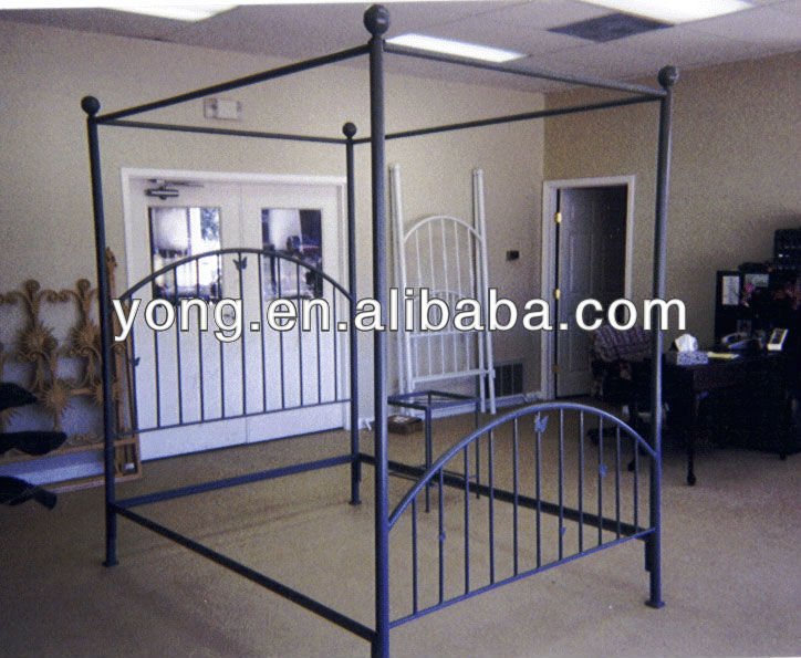 wrought iron canopy bed wrought iron canopy bed suppliers and manufacturers at alibabacom