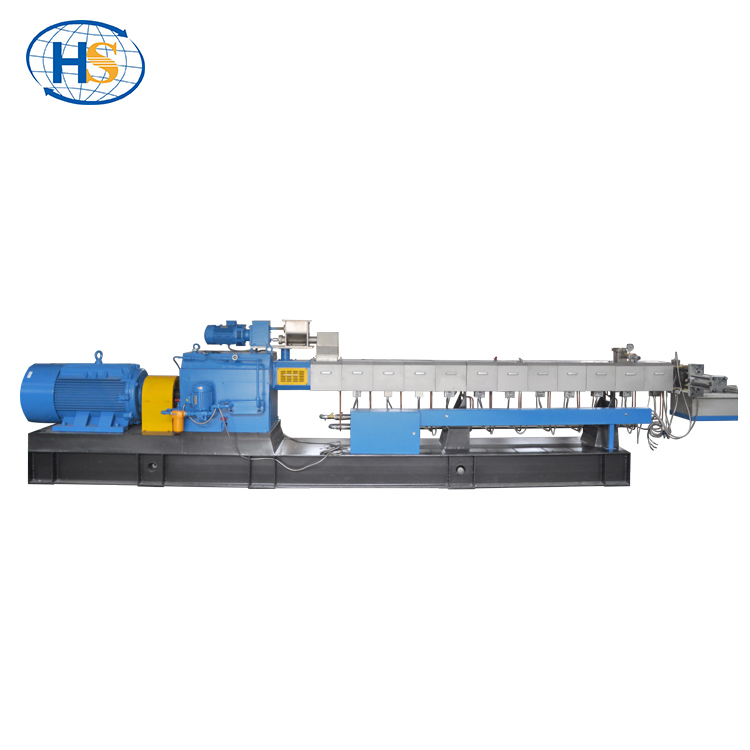 Haisi Extrusion ABS/PP/<strong>PE</strong>/PS water-cooling strands pelletizing extruder prices