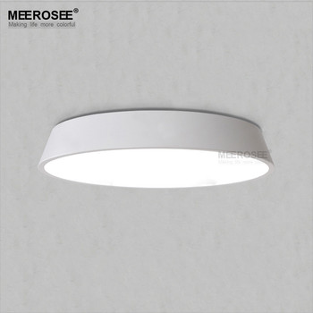 Meerosee Round Led Ceiling Lights For Bedroom White Kitchen Md81969 Light