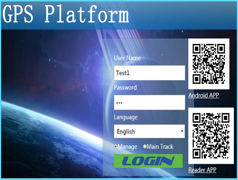 Live track fleet management source code GPS tracking software platform with Android app