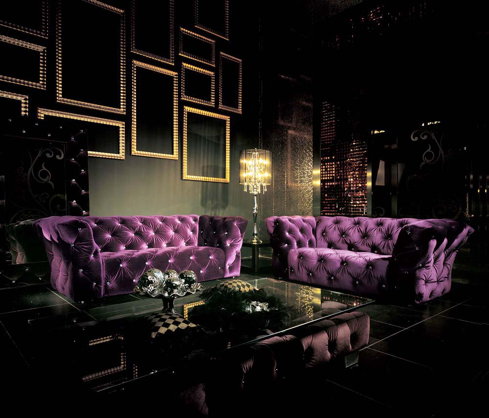 Bisini Living Room 2013 Latest Purple Chesterfield Fabric Sofa Design Sofa  Chair   Buy Purple Fabric Sofa,Sofa Chair,Sofa Design Product On Alibaba.com