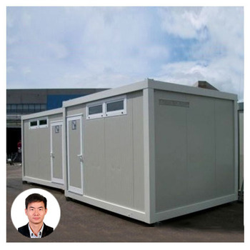 Prefabricated bathroom pods buy prefabricated bathroom for Shipping container public bathroom