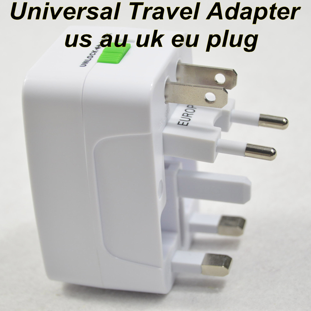 Free Shipping Universal Adapter Plug Socket Converter All In One Travel Electrical Us Uk Au Eu