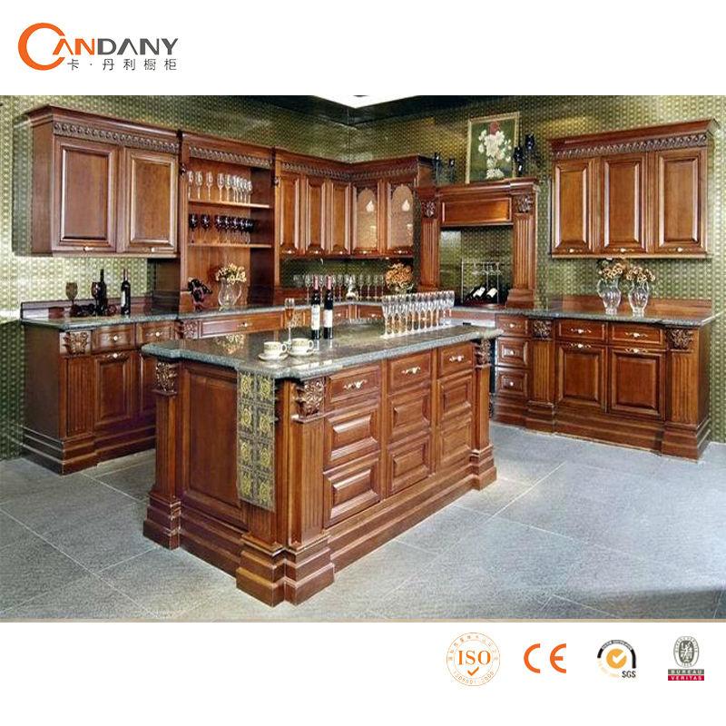 Muebles de cocina en madera solida ideas for Muebles de cocina de madera maciza