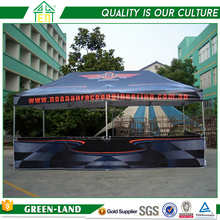 Cheap aluminium one piece exhibition sunshade instant vendor canopy tent for business