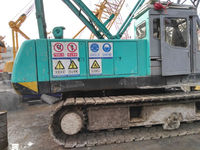 Used 50 ton Kobelco crawler crane, Japanese Kobelco 7050 crane for sale, competitive price