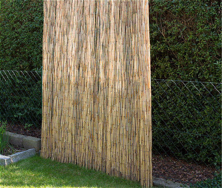 Willow Mat Rolled Reed Wicker Fencing For Patio