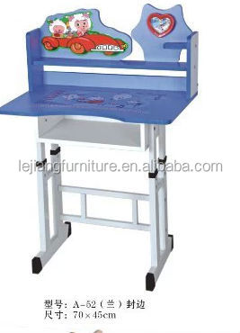 adjustable children writing desk and chair
