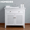 Homedee Chinese Cheap Single Bathroom Vanity For Wholesalers