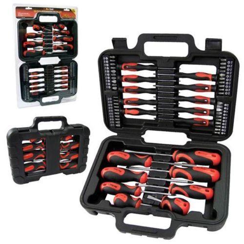 58 Mechanics Screwdriver Bit Tool Kit Set Precision Phillips Torx Pozi Slotted