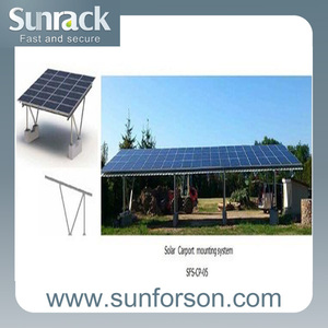 Solar Carports Mounting Structures Bipv