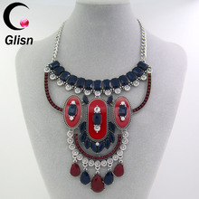 Vintage long boho statement necklace trendy bohemian turkish multiple sparkly for women accessories jewelry