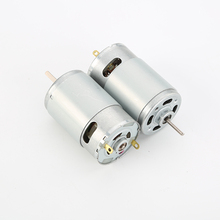 Dc Brush Gear Motor High Torque Low Rpm 12 Volt Electric Motor