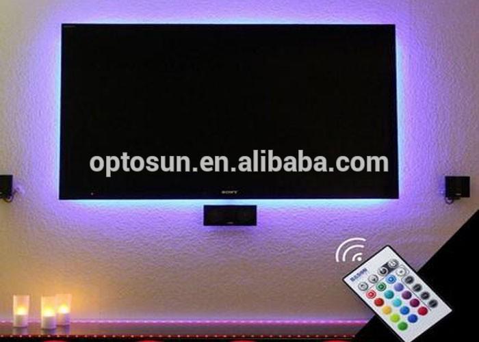Illuminazione led tv vansky led retro tv bias light strisce led