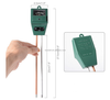 Soil pH Meter, 3-in-1 Plant Soil Moisture Sensor/pH/Light Tester for Gardener