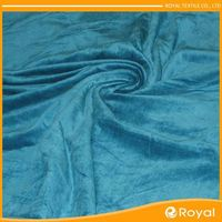 Microfiber Manufacturer Artificial Flowers Sportswear Fabric Gold Velvet