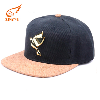 Wholesale Custom Cork Snapback Hat Cap High Quality 6 Panel Metal Plate Snapback  Cap - Buy Metal Plate Snapback Cap c592c0603f8f