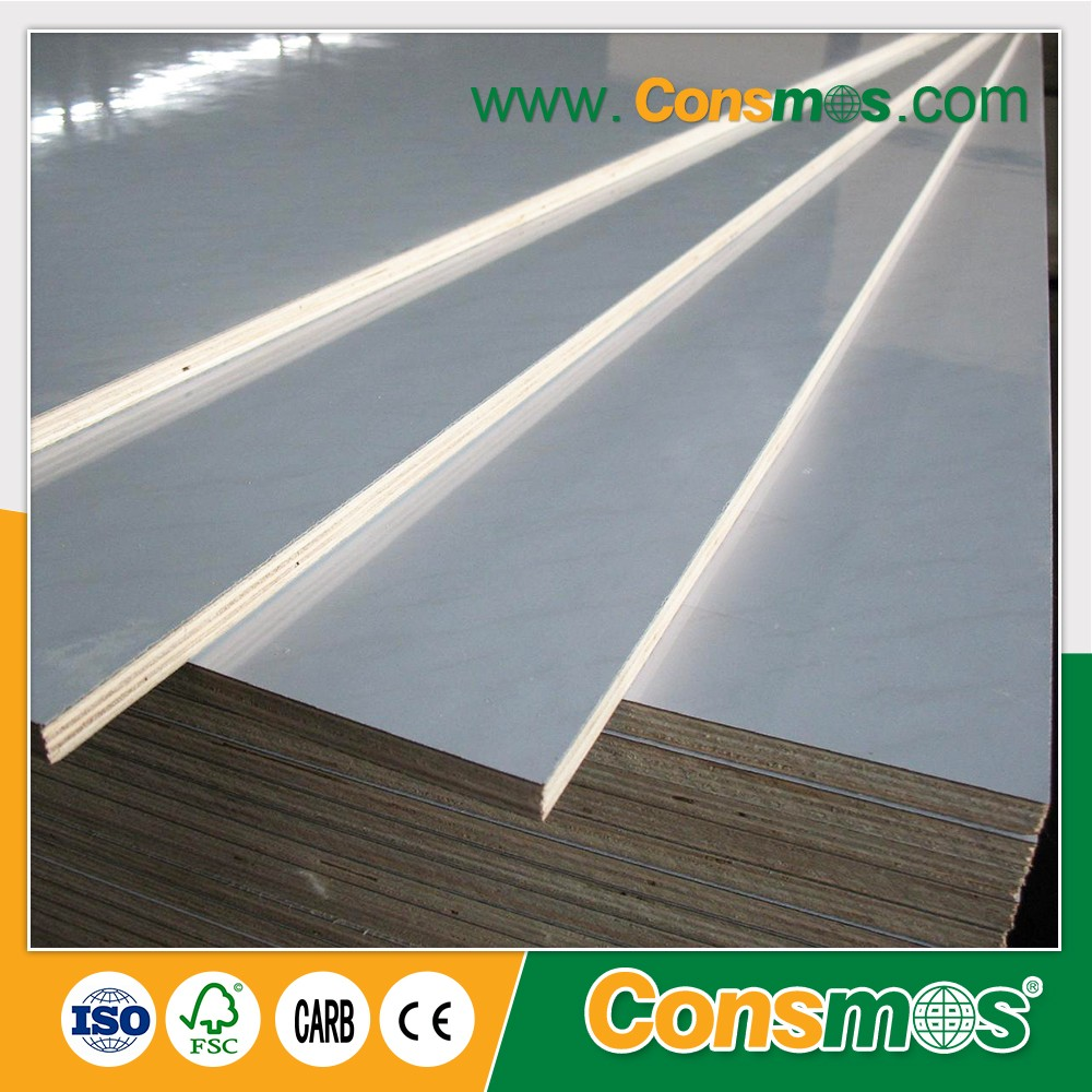 High Quality White Glossy Hpl Laminated Plastic Plywood