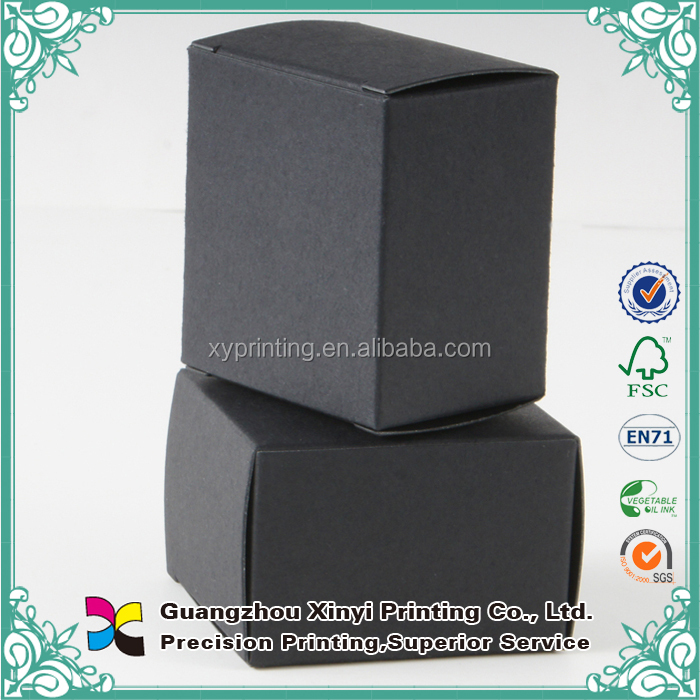 High quality fashionable different colors custom chrismas paper box