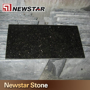 India Galaxy Black Sparkle Granite Tile Buy Black Sparkle