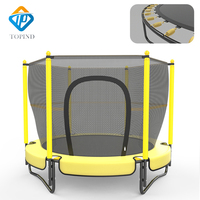 Kids Indoor Professional Trampoline Bed with Safety Net