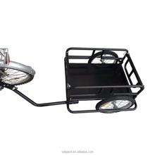 Folding Cargo 20 inch Black Steel Frame Bicycle Trailer
