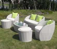 popular wicker furniture garden rattan corner sofa