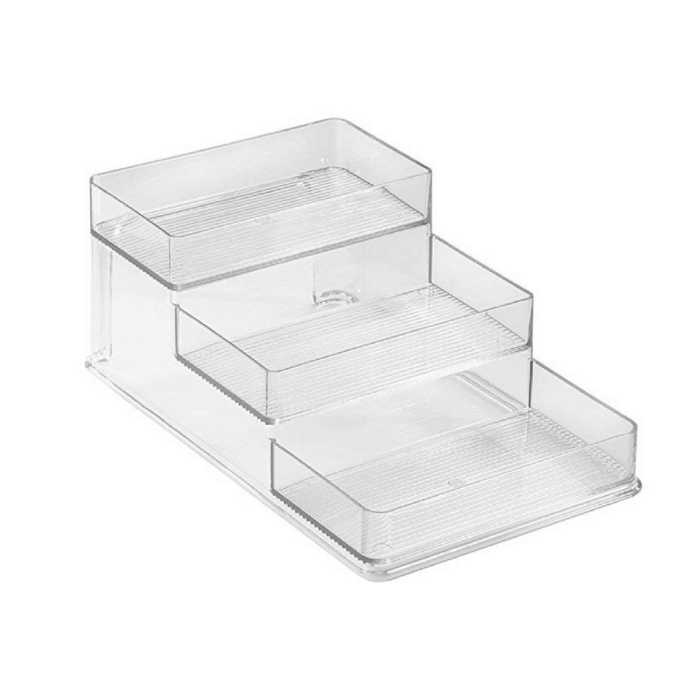 Utility Caddy Organizer, Premium Quality, Clear Color, 3 Storage Levels, Stylish And Modern Design, Easy Access, Ideal For Any Room, Medium Size, Multipurpose Use & E-Book Home Decor