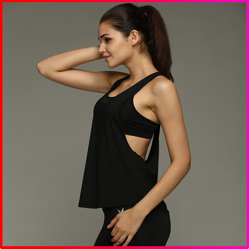 Men Loose design sport wear tank tops vest for women