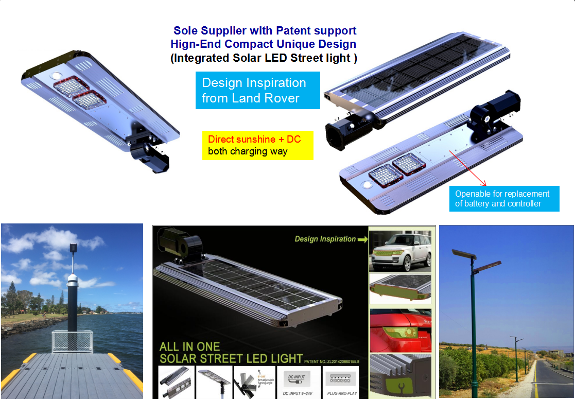 Die Casting Aluminum High Efficiency Led Solar Street Light Manufactures