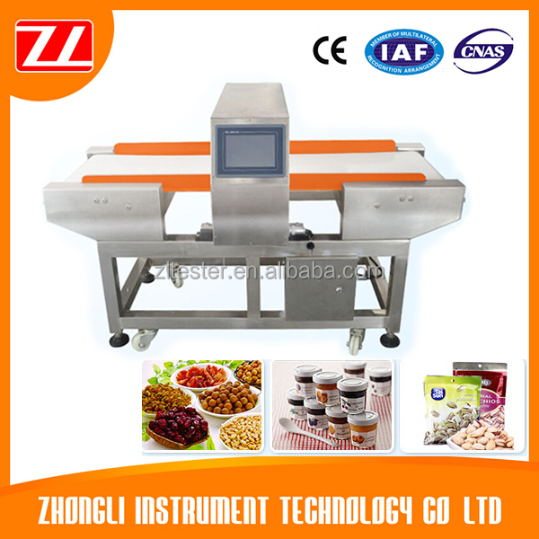 Conveyor Belt Food Packaging Industry Metal Detector Equipment for Olive Oil Made in China