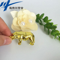 Toy Car Body Shell Small rhino shape Plastic Pill Container