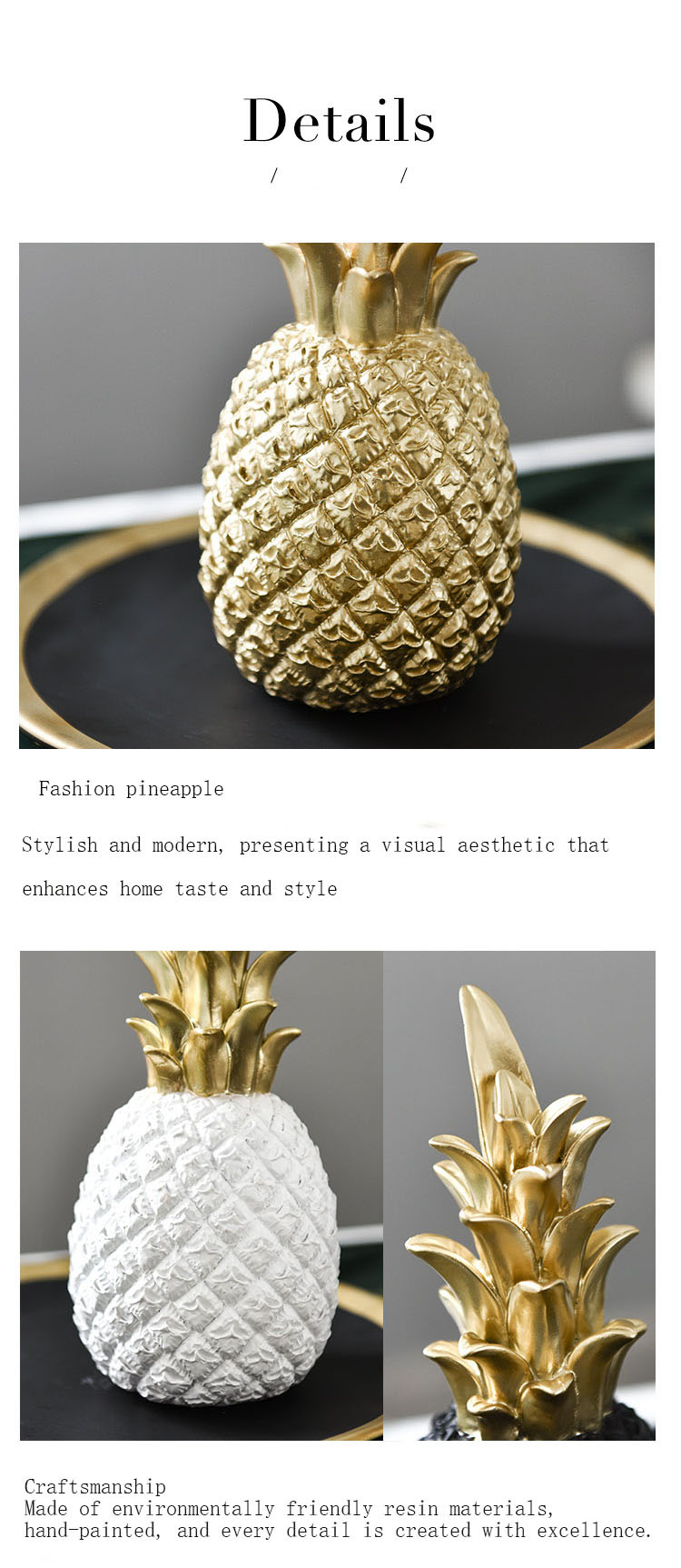 Nordic modern creative pineapple bookcase home bedroom house birthday party table  decoration