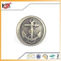 Wholesale metal sewing snap metal garment buttons for trade company