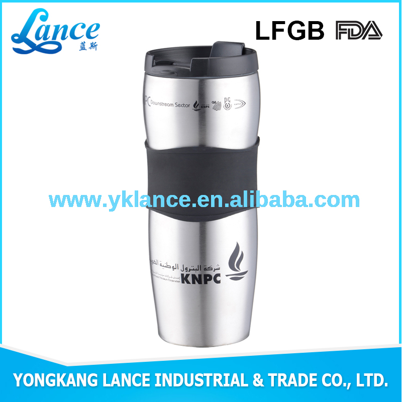 Cheap Wholesale Popular custom ceramic coffee mug with silicone lid