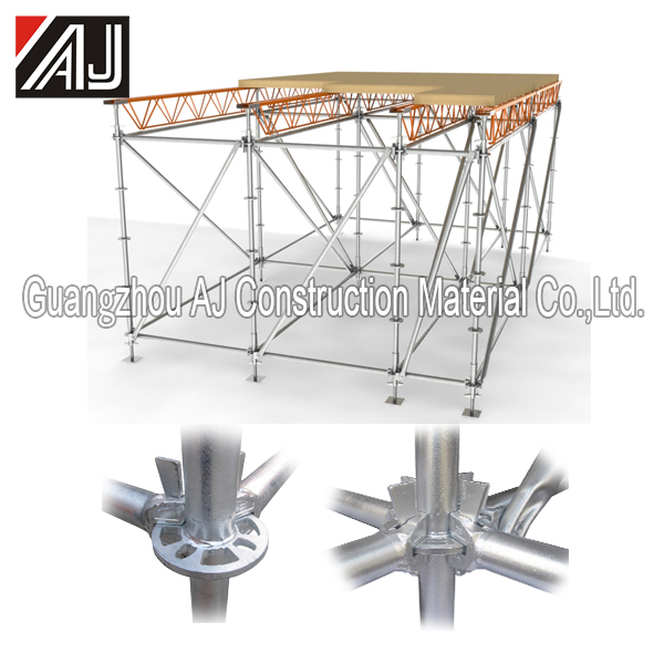 all-round scaffolding of shoring prop decking beam