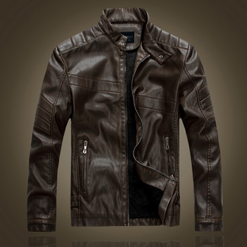 Online Shop China Original Short Italian Leather Jackets For Men ...