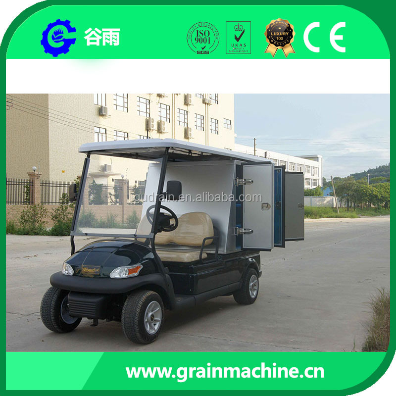 High quality 2 Seats Electric Golf Catering Carts ADC Motor Curtis Controller
