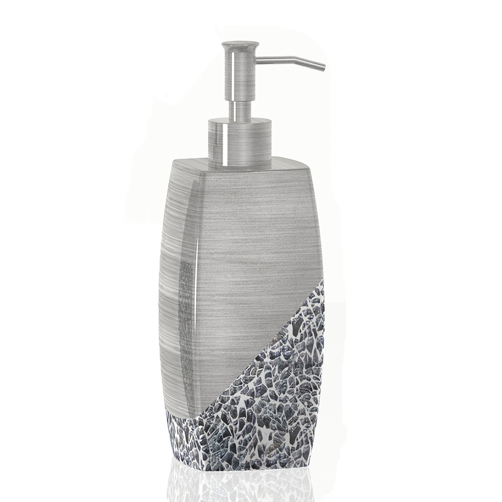 Newest Mosaic Glass Bathroom Accessories Soap Dispenser - Buy Mosaic ...