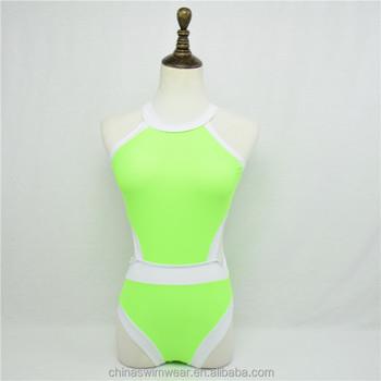 Oil Green bikini